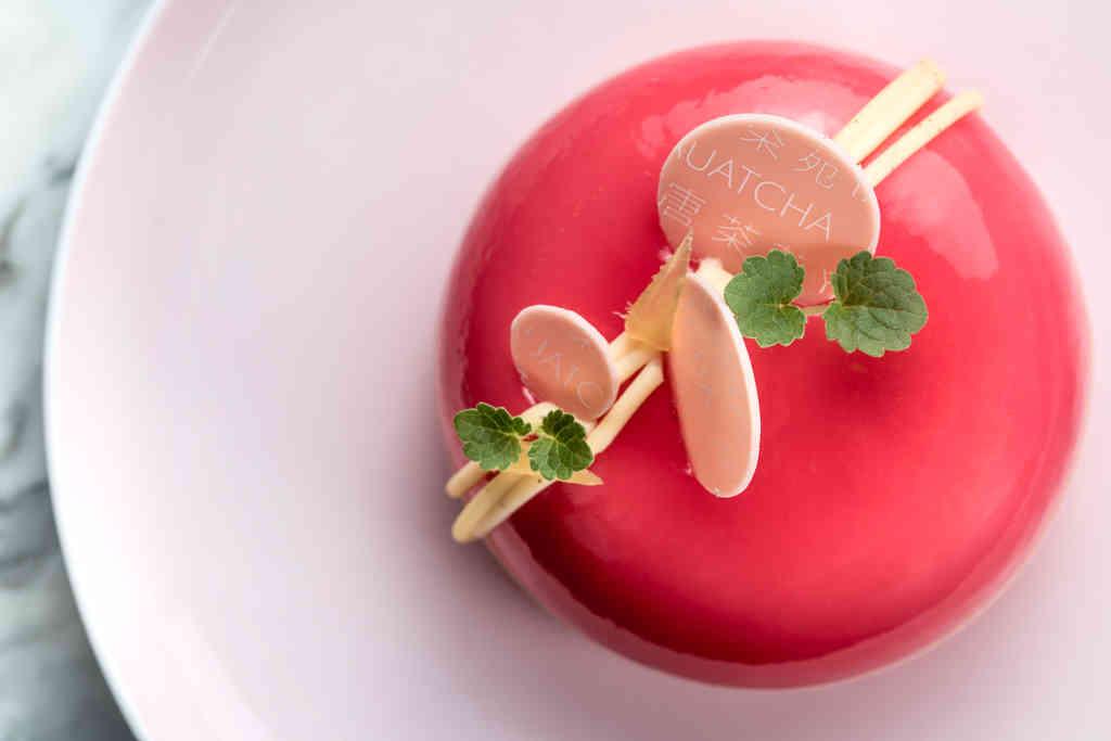Pretty in Pink Dessert