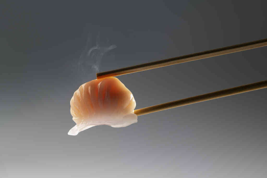 Har gau in Chopsticks