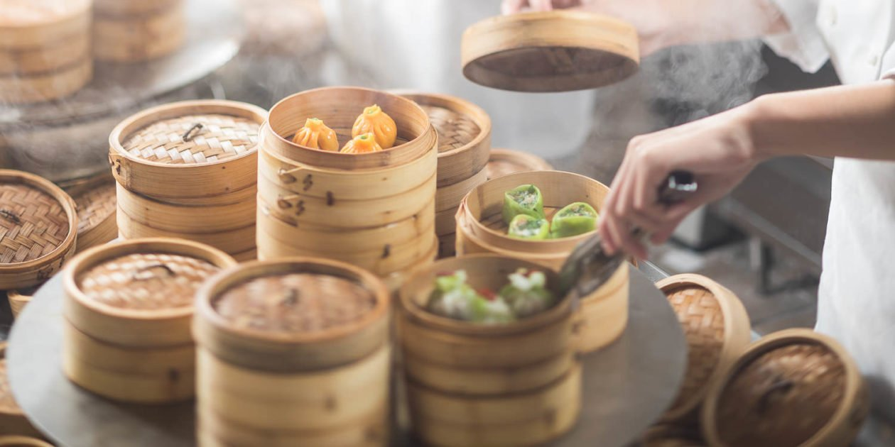 Dim Sum Basket Towers
