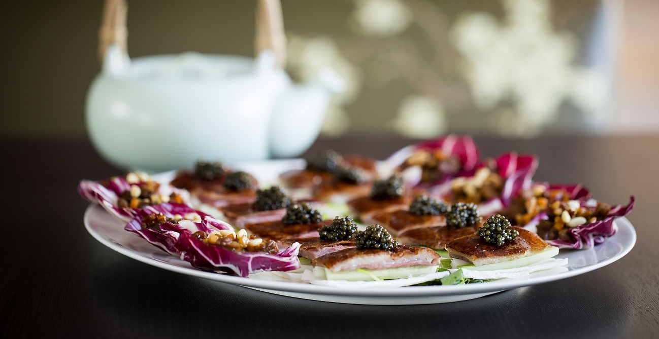 Peking Duck with Caviar