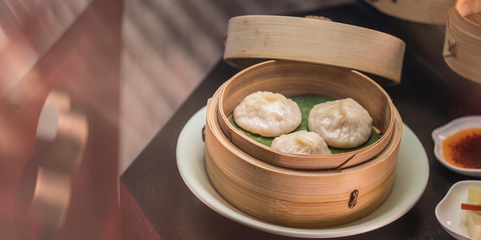Dumplings in Basket