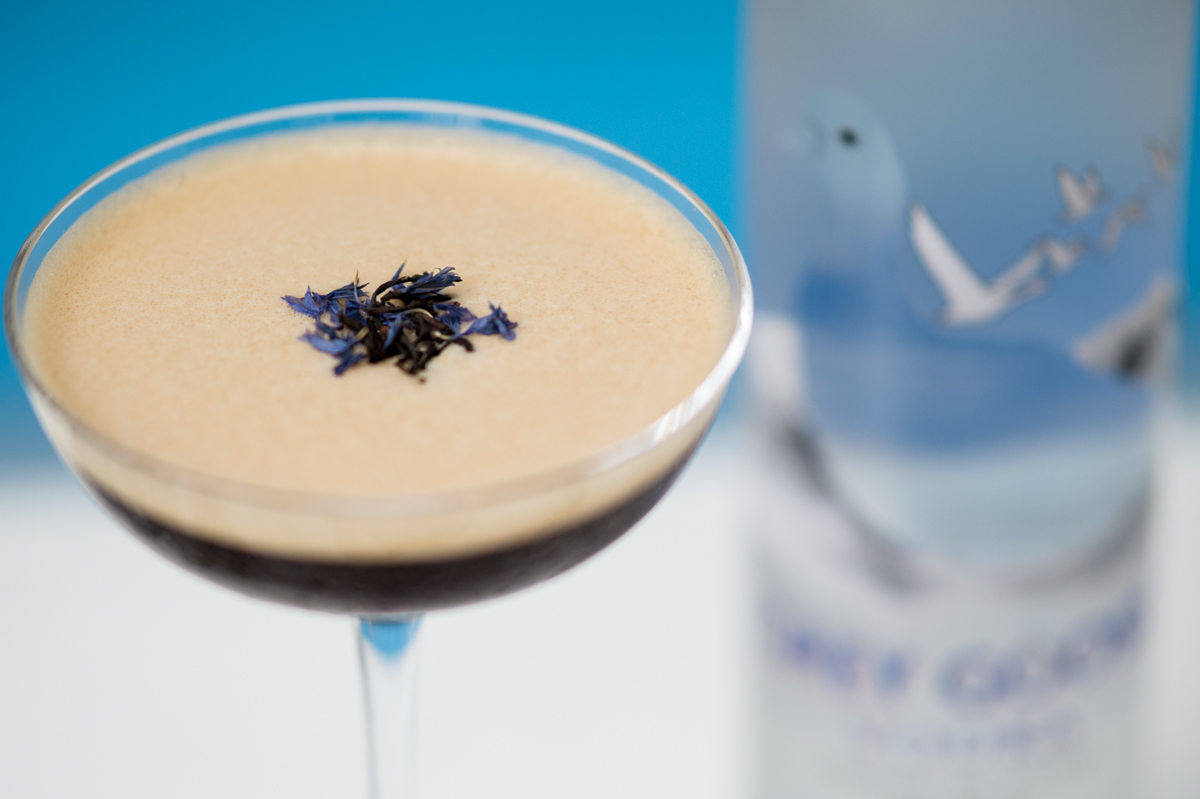 The Early Martini with Grey Goose Vodka
