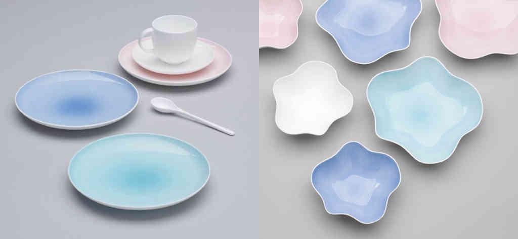 Bodo Sperlin Ceramic Plates and Saucers