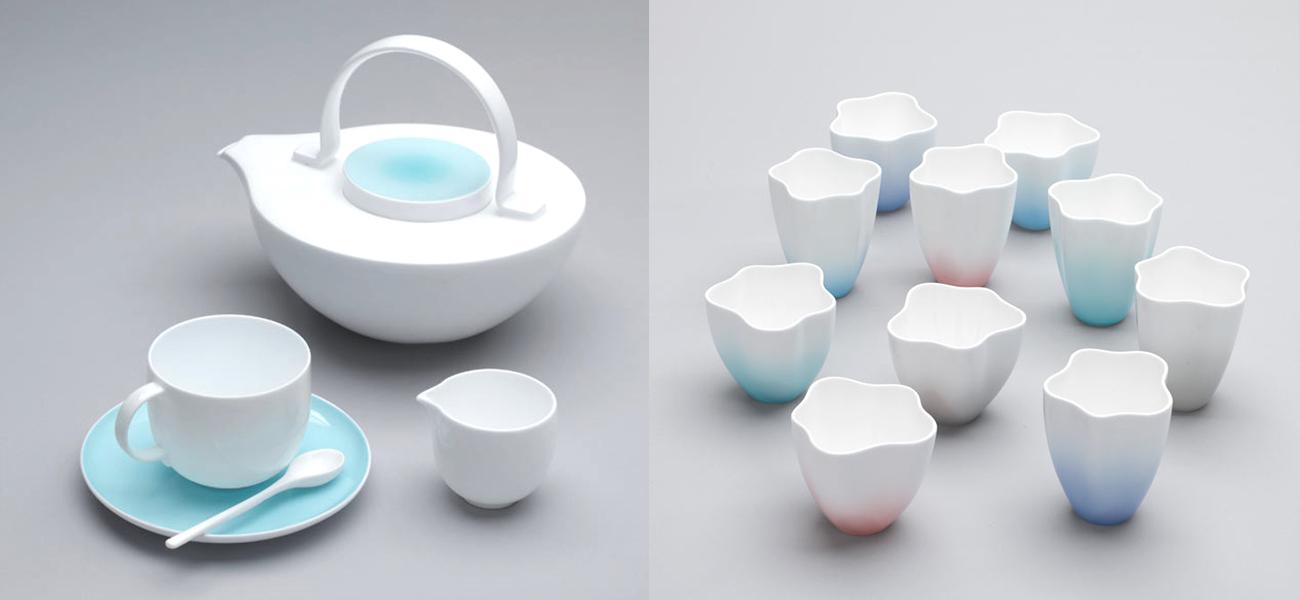 Bodo Sperlin Cermaic Tea Pot and Cups
