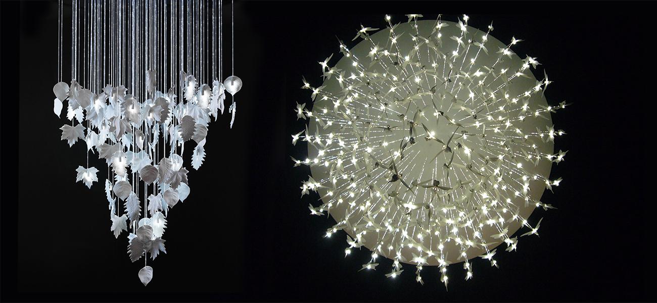 Bodo Sperlin's Yauatcha Light Fixture